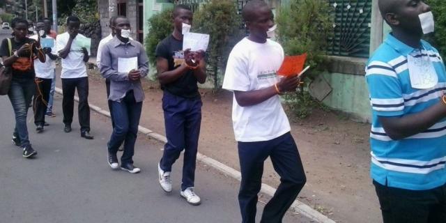RD Congo : 18 arrestations lors d'une manifestation pour la libération des militants de Lucha