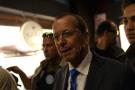 L'émissaire de l'ONU en Libye Martin Kobler lors d'une rencontre avec des leaders libyens, le 5 avril 2016.