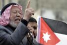 Hamza Mansur, l'un des chefs des Frères musulmans, le 28 novembre 2014 à Amman.