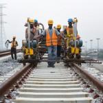 Travaux d'extension de la ligne de bus BRT au Nigeria