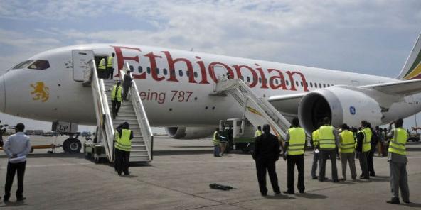 Un Boeing 787 Ethiopians Airlines.