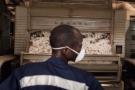 Une usine de coton, à Bobo Dioulasso.