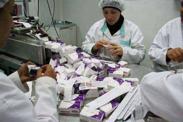 Le marché du médicament est en plein essor en Afrique.