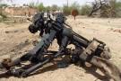 Des débris après une attaque du Mujao à Agadez, dans le nord du Niger.