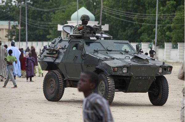 L'armée nigériane à Maiduguri, en août 2013. Photo d'illustration.