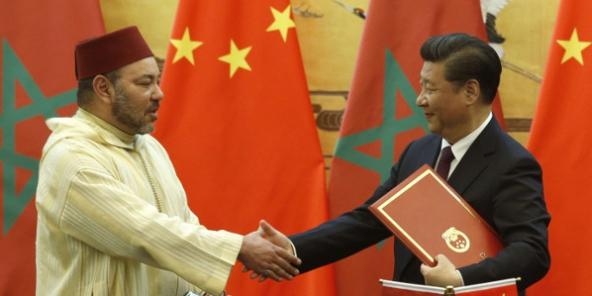 Signature du partenariat stratégique entre  le Maroc et la Chine le  11 mai 2016.