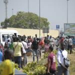 Environ 60 % des jeunes Africains seraient sans emploi. Et chaque année, plus de 10 millions de jeunes actifs entreront sur le marché du travail. Vue de l'Université d'Abidjan, le 29 janvier 2013.