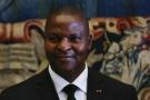Le président centrafricain Faustin-Archange Touadéra.