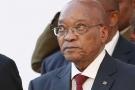 Le président sud-africain Jacob Zuma devant le Parlement au Cap, le 29 avril 2016.