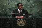 Le fils du président équato-guinéen Teodoro Nguema Obiang Mangue devant l'Assemblée générale de l'ONU, le 30 septembre 2015 (photo d'illustration).