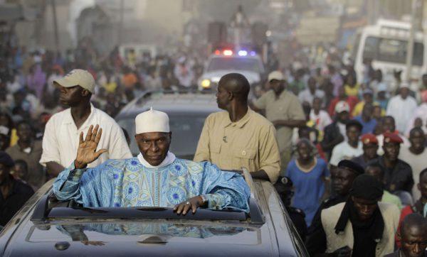 Abdoulaye Wade, ancien président du Sénégal de retour à Dakar.