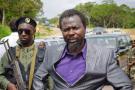 Frédéric Bintsamou, alias le pasteur Ntumi, en décembre 2008 dans le Pool.