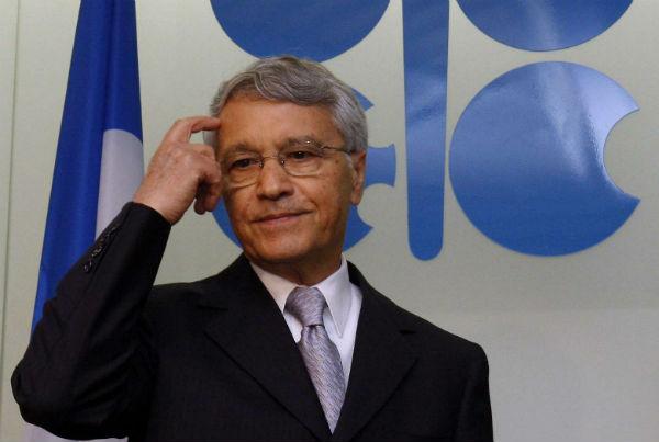 Chakib Khelil à Vienne, le 10 septembre 2008.