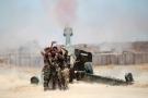 Combattants chiites prenant un selfie pendant le siège de Fallouja, en Irak, le 29 mai.