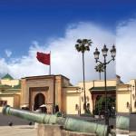 Palais royal de Rabat.