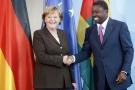 Angela Merkel et Faure Gnassingbé le 16 juin 2009 à Berlin.