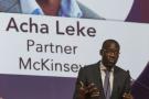 Acha Leke, DG Afrique de McKinsey.