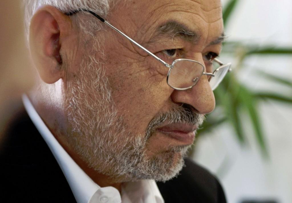 Rached Ghannouchi, leader historique du parti Ennahdha.