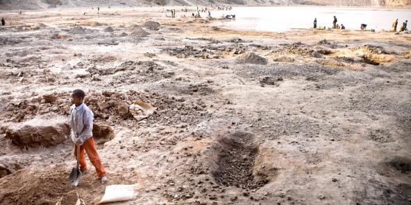 Selon l'Unicef, près de 40 000 enfants travaillaient dans les mines du Katanga, en RD Congo, en 2014.