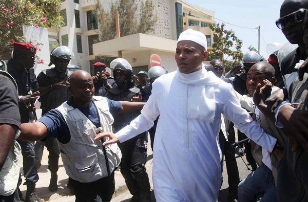 Karim Wade, fils de l'ancien président sénégalais Abdoulaye Wade.