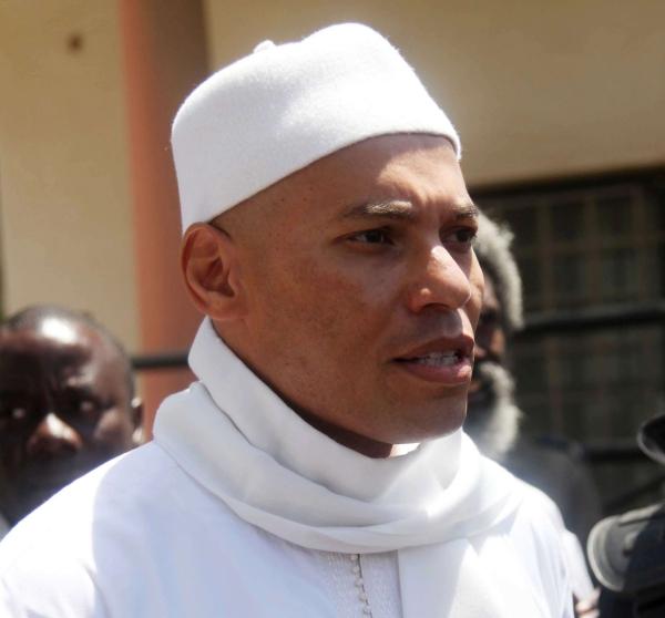Karim Wade, candidat officiel du PDS à la présidentielle de février 2019.