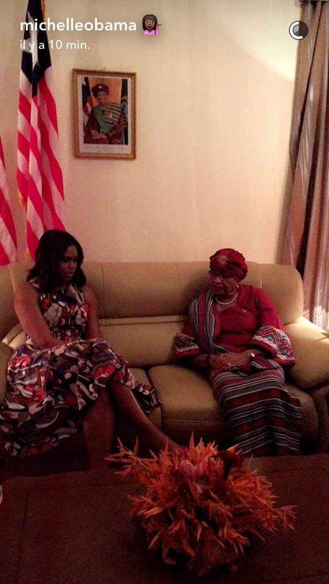 Capture Snapchat @Michelle Obama