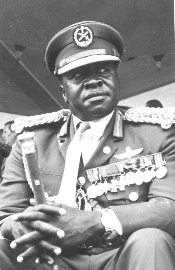 L'ancien président ougandais Idi Amin Dada.