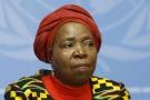 Nkosazana Clarice Dlamini-Zuma , le 24 mai 2016 à Genève.