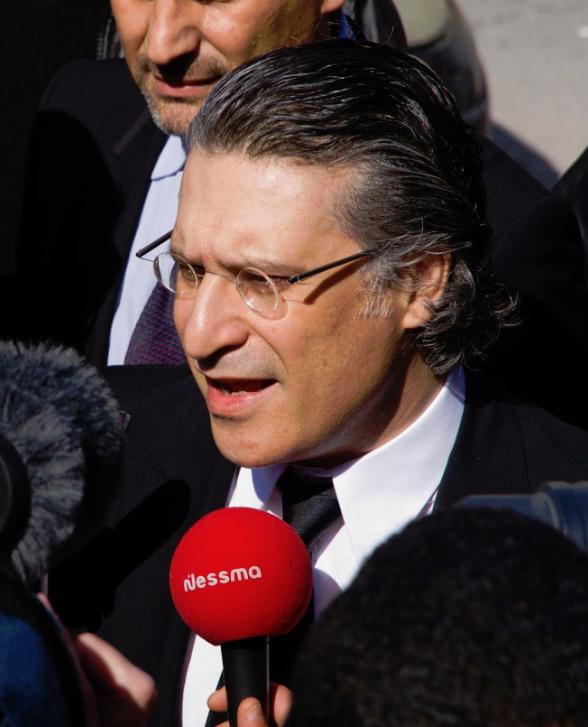 Nabil Karoui, fondateur de la chaîne Nessma TV.