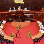 L'Assemblée nationale de Côte d'Ivoire, à Abidjan.