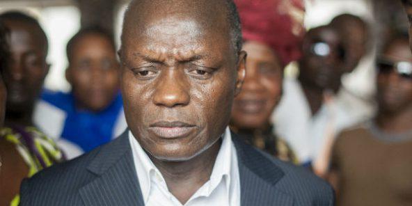José Mario Vaz, chef de l'État bissau-guinéen le 3 mars 2014.