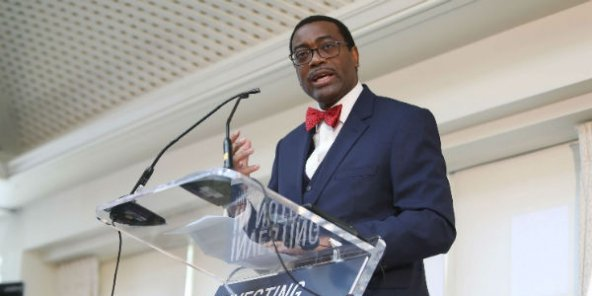 Akinwumi Adesina, président de la BAD, le 17 avril 2016 à Washington.