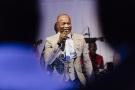 Koffi Olomidé en concert à Brazzaville, lors du forum Forbes Afrique 2014.