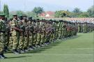 Des soldats burundais lors de la journée de l'Indépendance le 1 juillet 2016 à Bujumbura (illustration).