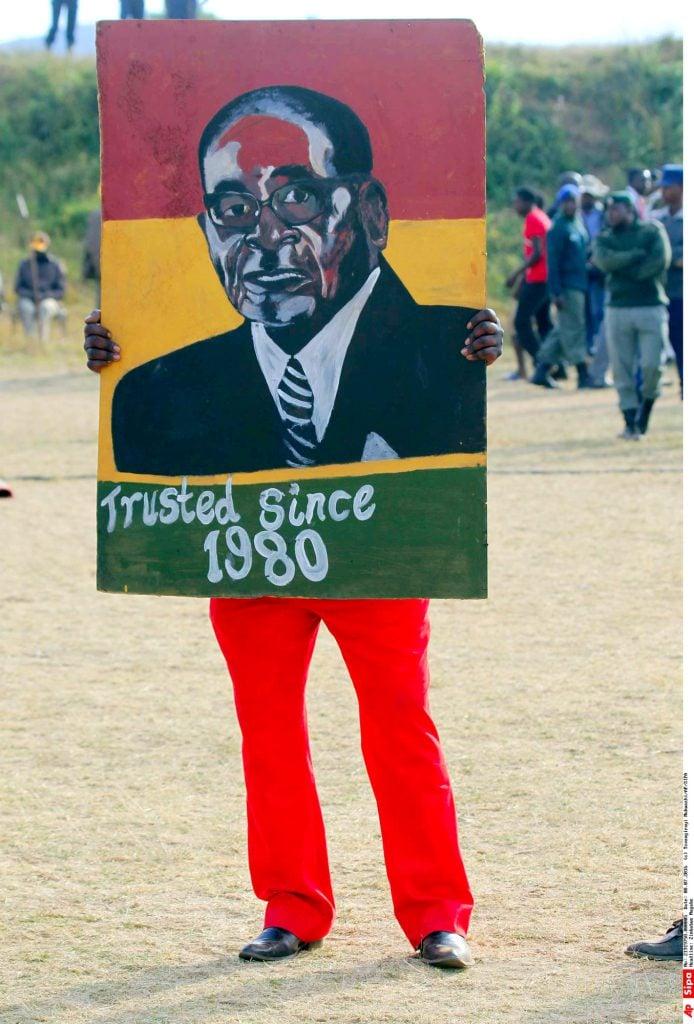 Tsvangirayi Mukwazhi/AP/SIPA