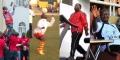 Uhuru Kenyatta, Pierre Nkurunziza, Joseph Kabila et Yoweri Museveni, tous quatre amateurs de sport.