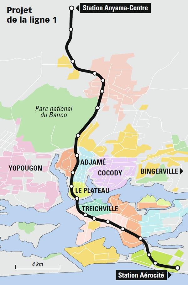 """Résultat de recherche d'images pour """"projet metro abidjan"""""""