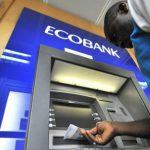 Un distributeur du groupe Ecobank.
