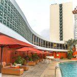 L'hôtel Ivoire, groupe Sofitel, à Abidjan, en Côte d'Ivoire accueille le sommet UA-UE du 29 au 30 novembre 2017.