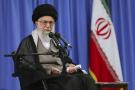 Le guide suprême iranien, l'ayatollah Ali Khamenei s'exprime lors d'une conférence à Téhéran, le 1er août 2016.
