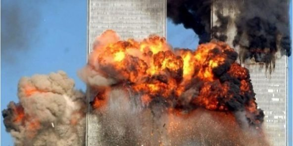 Les tours du World Trade Center, attaquées le 11 septembre 2001.