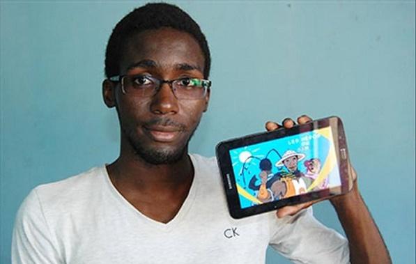 Mahaman Sani Housseyn Issa, créateur du jeu vidéo