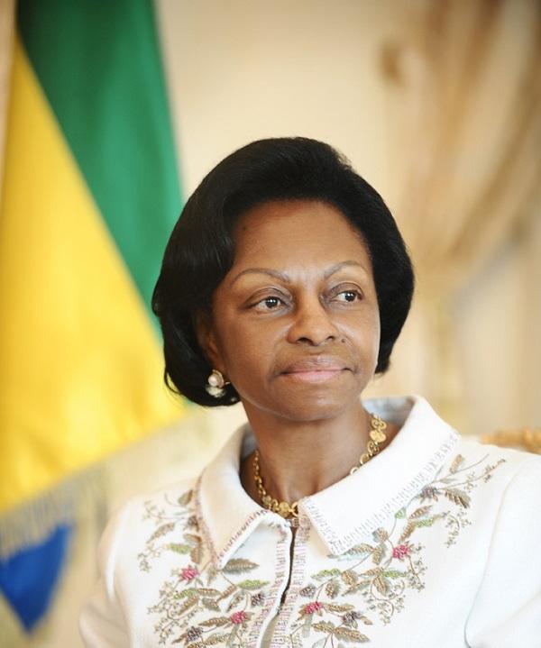 Marie Madeleine Mborantsuo, à Libreville le 15 septembre 2016.