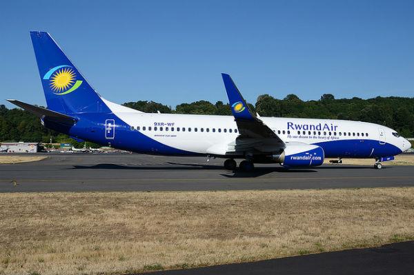Un appareil de la compagnie RwandAir.