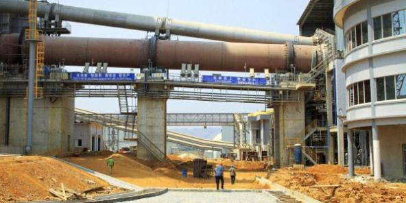 À Mfila, le nigérian Dangote a récemment ouvert la plus grande cimenterie d'Afrique centrale.