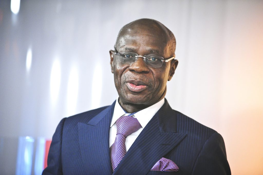 Albert Yuma Mulimbi, président du Conseil d'administration de la Gecamines, en septembre 2016.