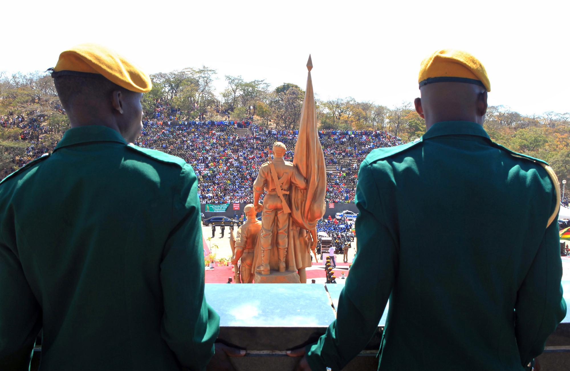 Les anciens héros de l'indépendance ont massivement boycotté le discours que le chef de l'État a prononcé le 8août à Harare.