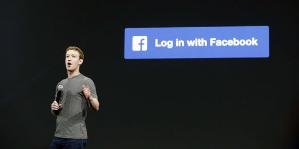 Le PDG de Facebook, Mark Zuckerberg, en 2014 à San Francisco.