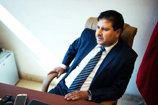 Abdelali Hamidine, vice-président du PJD.