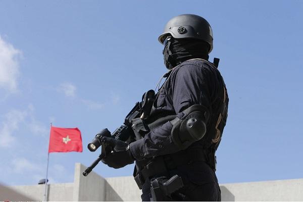Un membre de l'unité antiterroriste marocaine en 2015.
